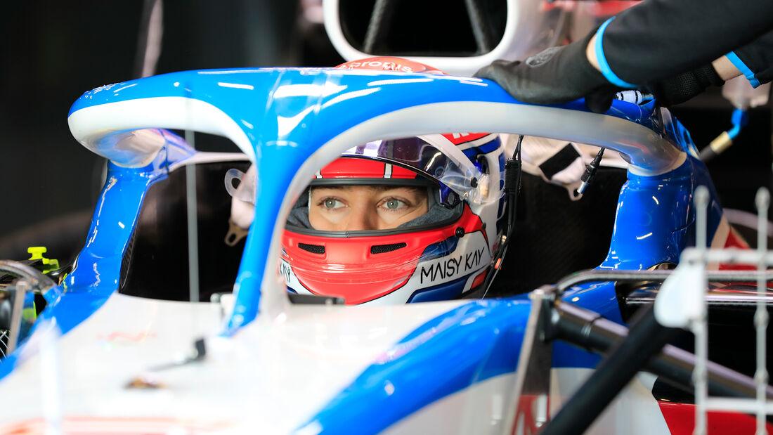George Russell - Williams - F1-Test - Barcelona - 19. Februar 2020