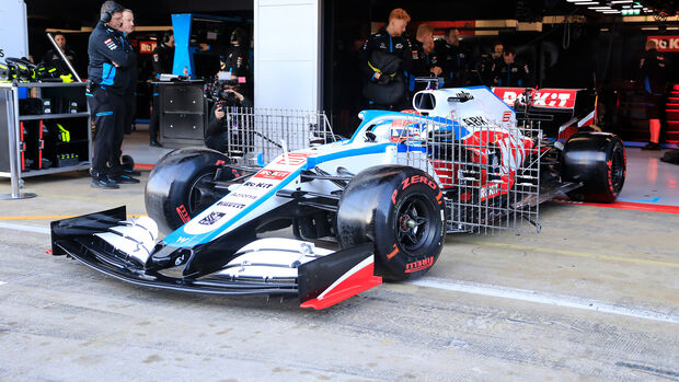 George Russell - Williams - F1-Test - Barcelona - 19. Februar 2020