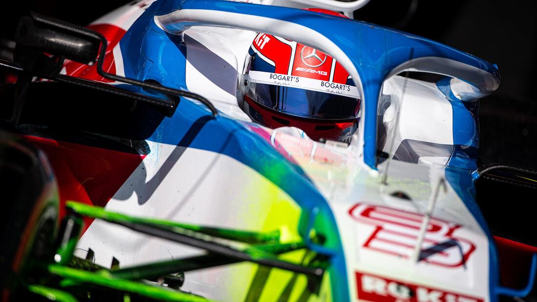 George Russell - Williams - F1-Test - Barcelona - 20. Februar 2020