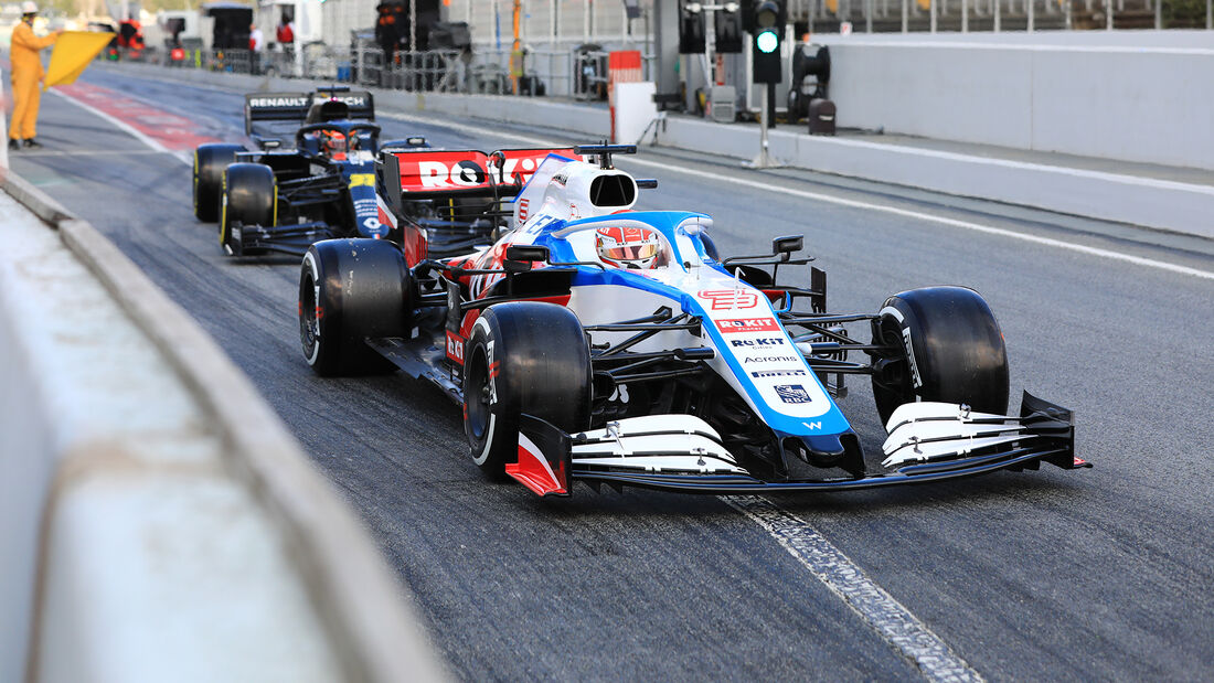 George Russell - Williams - F1-Test - Barcelona - 28. Februar 2020