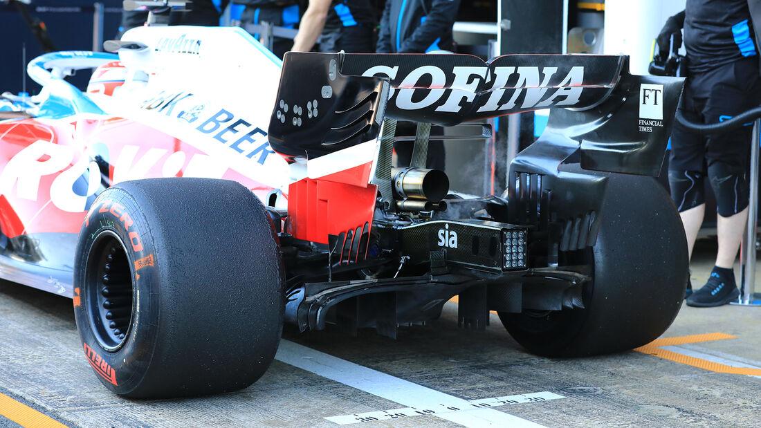 George Russell - Williams - F1-Test - Barcelona - 28. Februar 2020