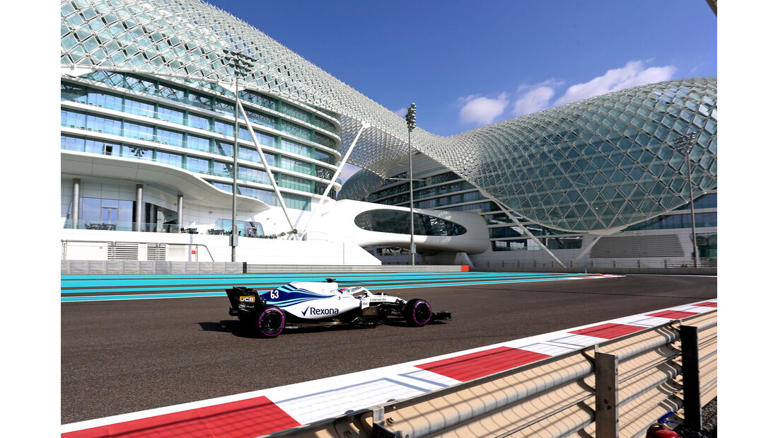 George Russell - Williams - F1-Testfahrten - Abu Dhabi - 27.11.2018
