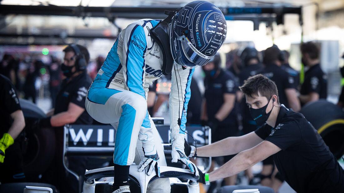 George Russell - Williams - Formel 1 - GP Abu Dhabi - Freitag - 11.12.2020