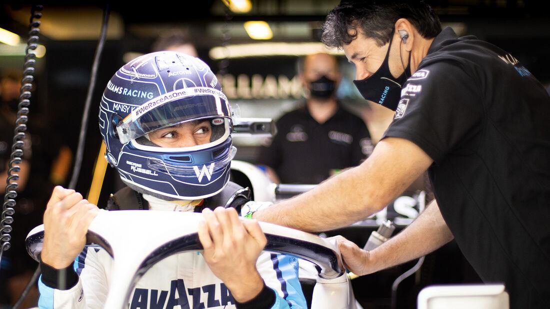George Russell - Williams - Formel 1 - GP Abu Dhabi - Samstag - 12.12.2020