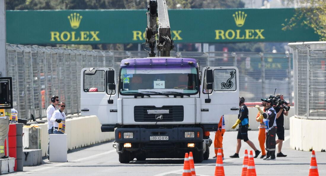 George Russell - Williams - Formel 1 - GP Aserbaidschan - Baku - 26. April 2019