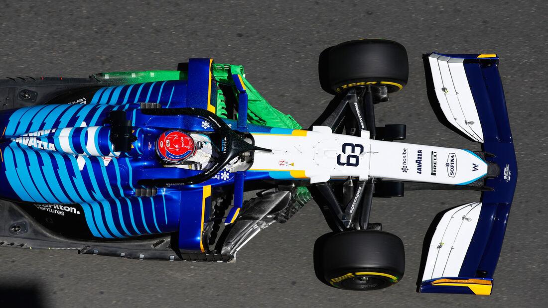 George Russell - Williams - Formel 1 - GP Aserbaidschan - Baku - Freitag - 4.6.2021