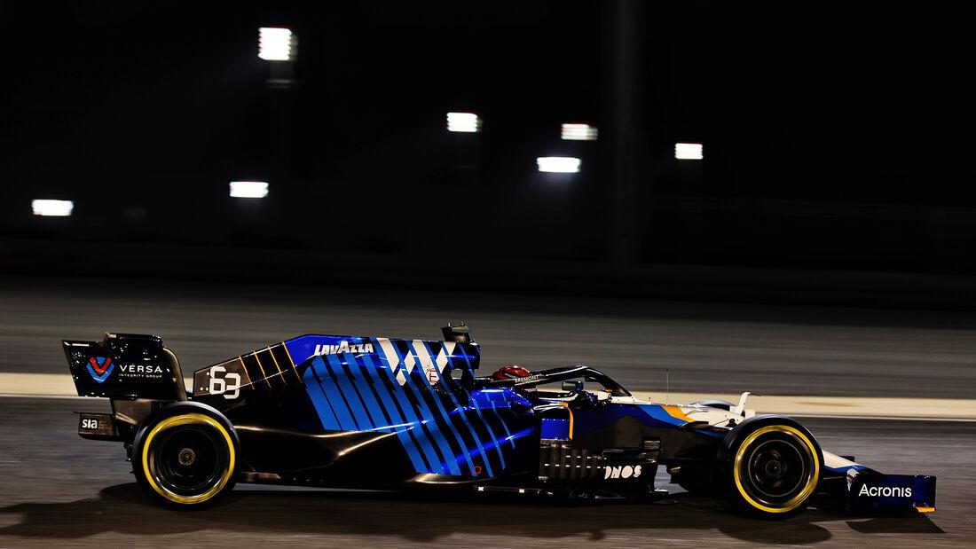 George Russell - Williams - Formel 1 - GP Bahrain - Freitag - 26.3.2021