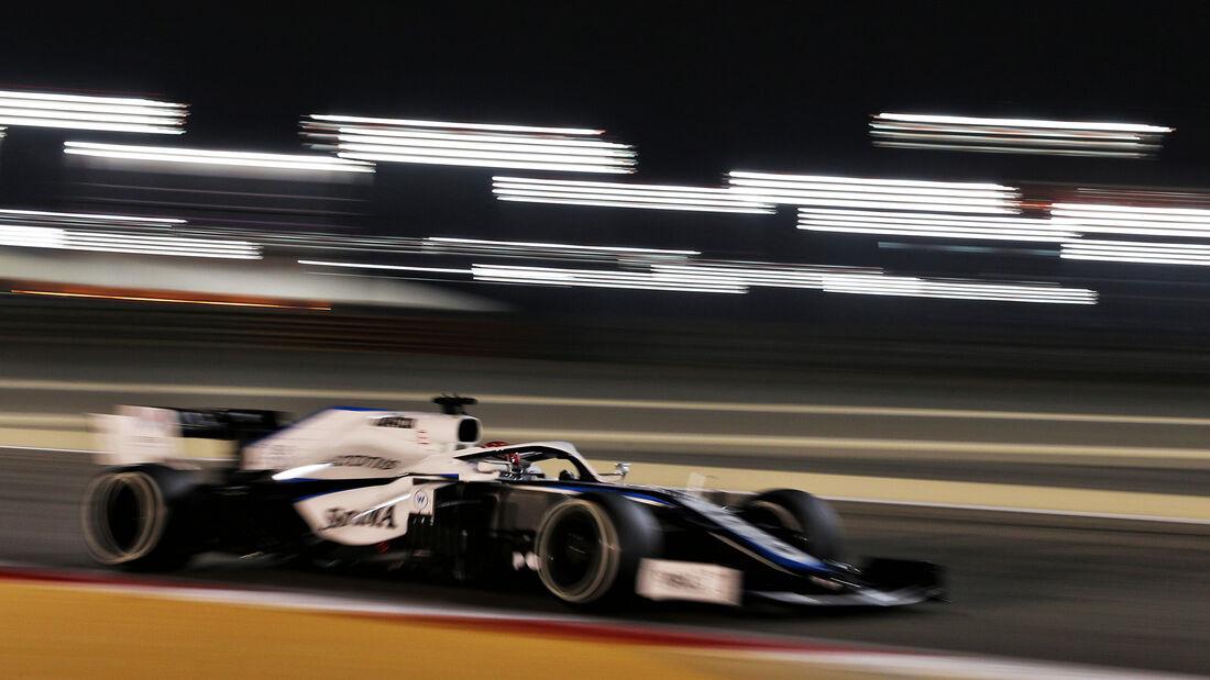 George Russell - Williams - Formel 1 - GP Bahrain - Sakhir - Freitag - 27.11.2020