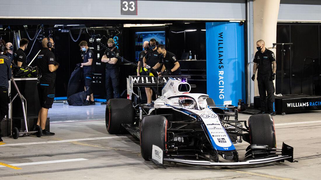 George Russell - Williams - Formel 1 - GP Bahrain - Sakhir - Qualifikation - Samstag - 28.11.2020