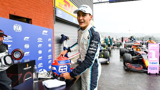 George Russell - Williams - Formel 1 - GP Belgien - 28. August 2021