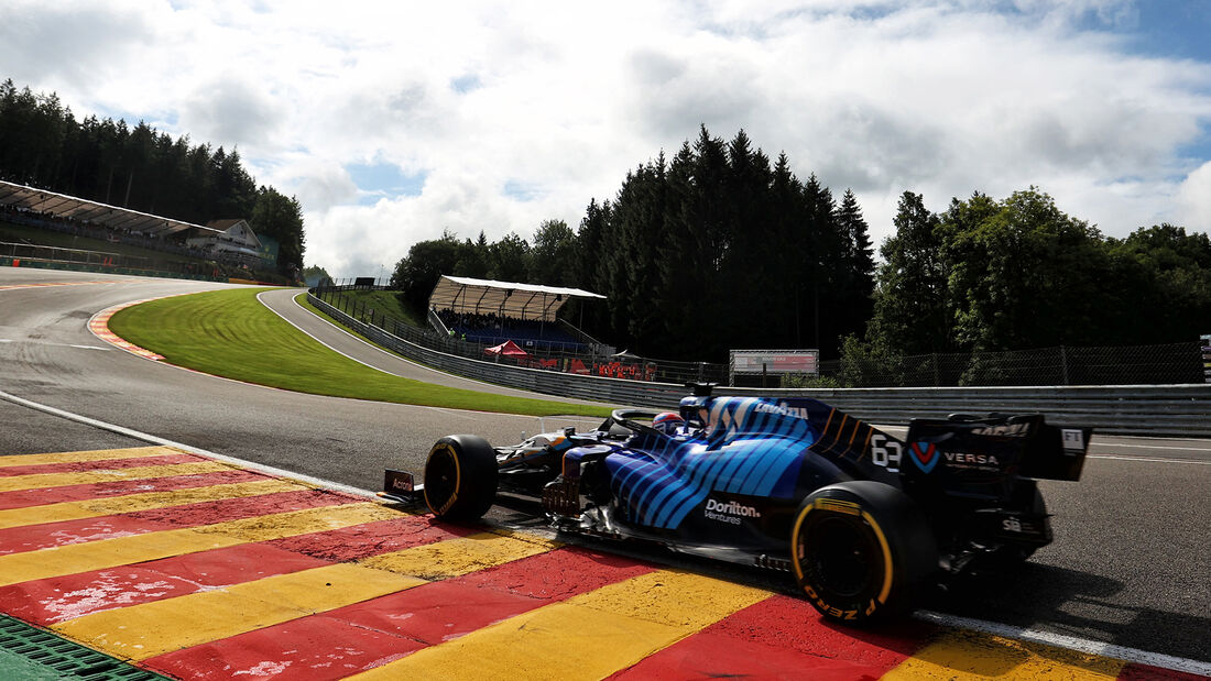 George Russell - Williams - Formel 1 - GP Belgien - Spa-Francorchamps - 27. August 2021