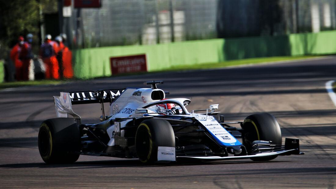 George Russell - Williams - Formel 1 - GP Emilia-Romagna - Imola - Samstag - 31.10.2020