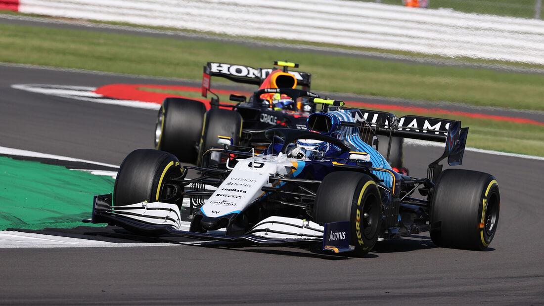 George Russell - Williams - Formel 1 - GP England - Silverstone - 17. Juli 2021