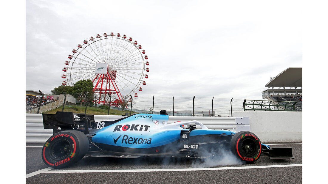 George Russell - Williams - Formel 1 - GP Japan - Suzuka - 11. Oktober 2019