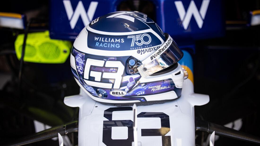 George Russell - Williams - Formel 1 - GP Monaco - 20. Mai 2021