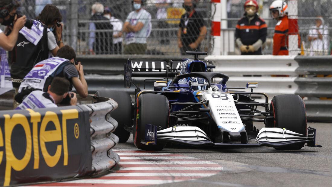 George Russell - Williams - Formel 1 - GP Monaco - 22. Mai 2021