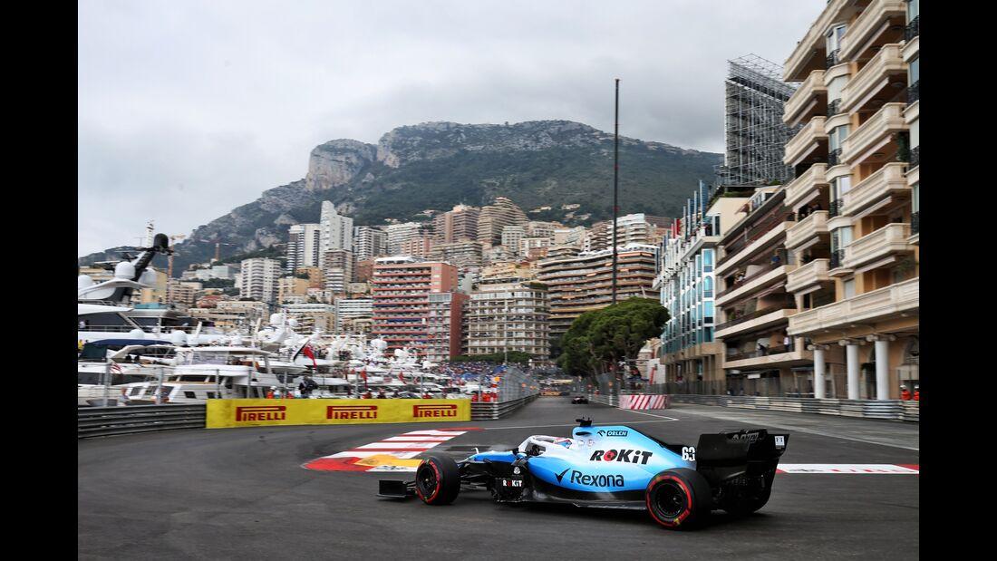 George Russell - Williams - Formel 1 - GP Monaco - 23. Mai 2019