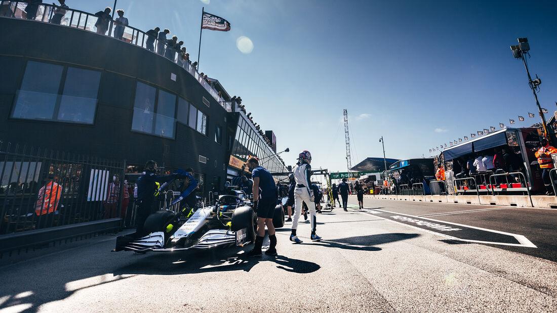 George Russell - Williams - Formel 1 - GP Niederlande - 4. September 2021