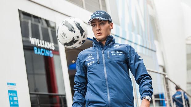 George Russell - Williams - Formel 1 - GP Niederlande - Zandvoort - 2. September 2021