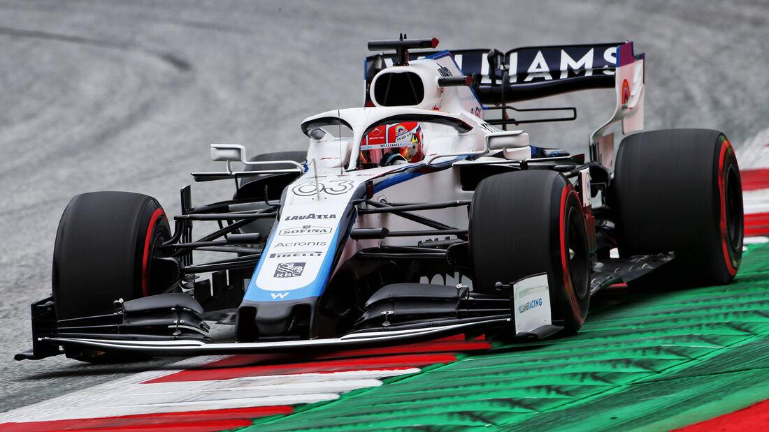 George Russell - Williams - Formel 1 - GP Österreich - Spielberg - 3. Juli 2020