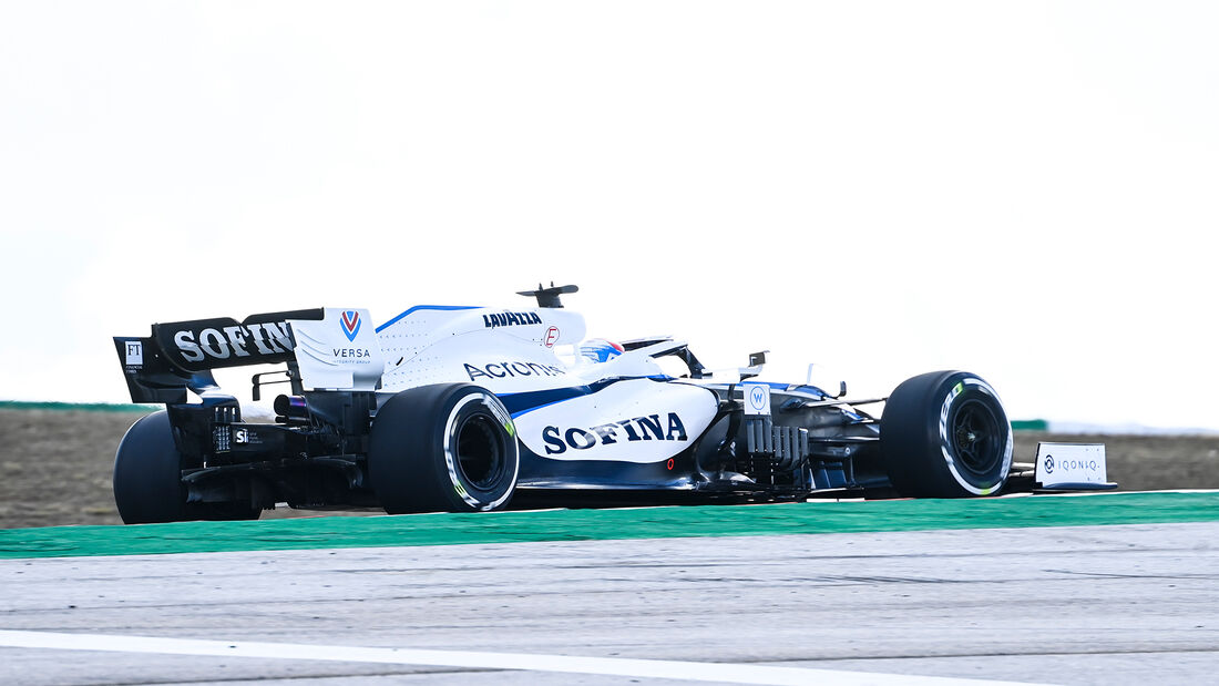 George Russell - Williams - Formel 1 - GP Portugal - Portimao - 23. Oktober 2020