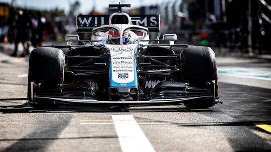 George Russell - Williams - Formel 1 - GP Portugal - Portimao - 24. Oktober 2020