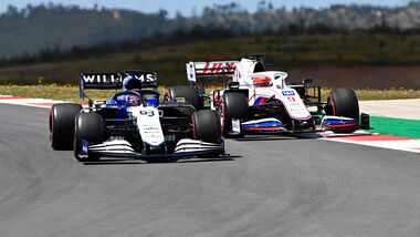 George Russell - Williams - Formel 1 - GP Portugal - Portimao - 30. April 2021