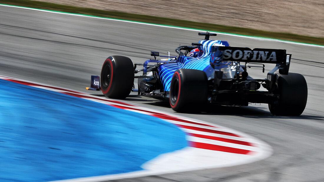 George Russell - Williams - Formel 1 - GP Spanien - 7. Mai 2020