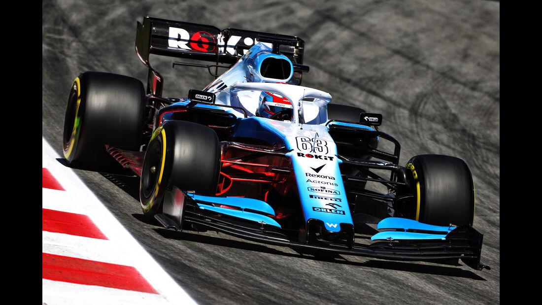 George Russell - Williams - Formel 1 - GP Spanien - Barcelona - 10. Mai 2019