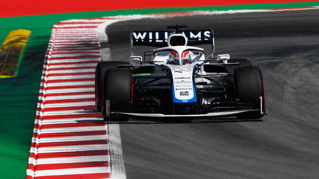 George Russell - Williams - Formel 1 - GP Spanien - Barcelona - 14. August 2020