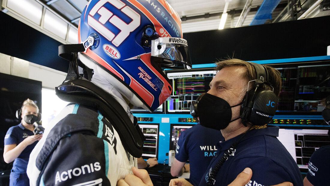 George Russell - Williams - Formel 1 - GP Steiermark - 26. Juni 2021