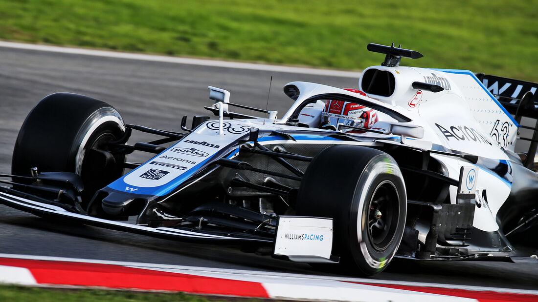 George Russell - Williams - Formel 1 - GP Türkei - Istanbul - Freitag - 13.11.2020