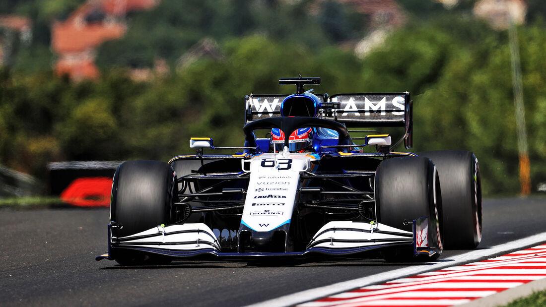 George Russell - Williams - Formel 1 - GP Ungarn - Budapest - Freitag - 30. Juli 2021