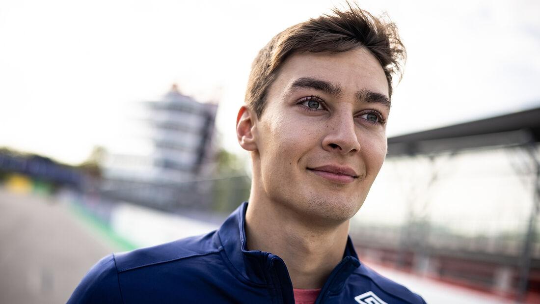George Russell - Williams - Formel 1 - Imola - GP Emilia-Romagna - 15. April 2021
