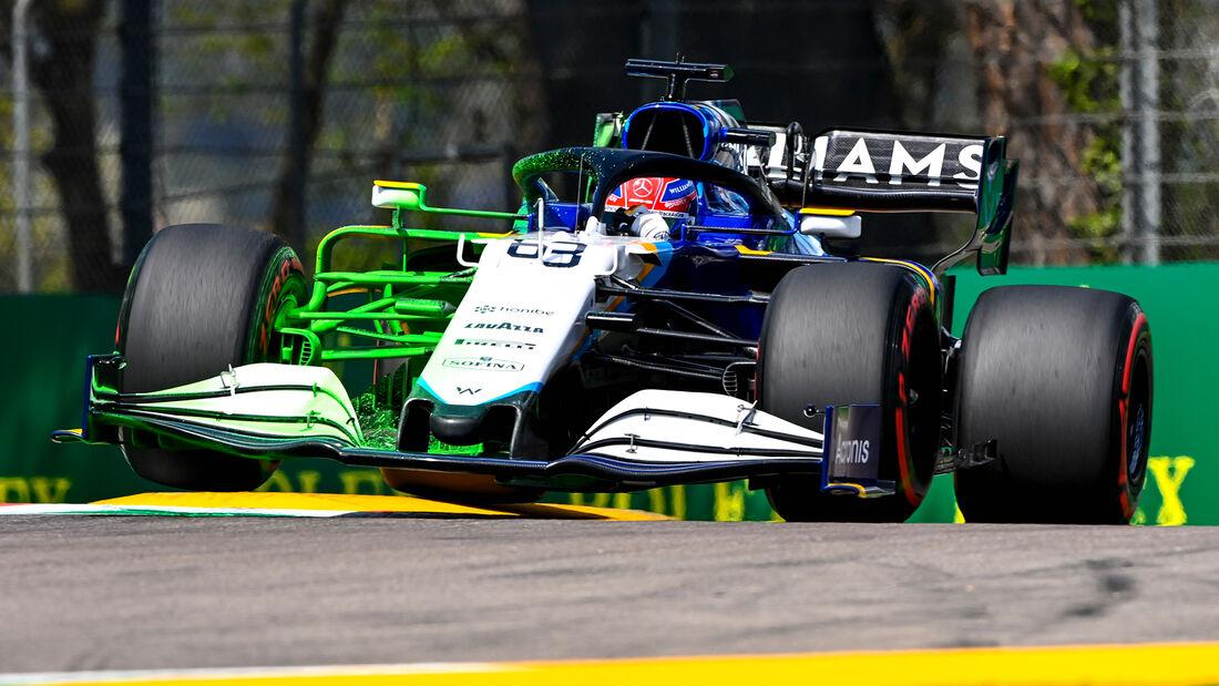 George Russell - Williams - Formel 1 - Imola - GP Emilia-Romagna - 16. April 2021