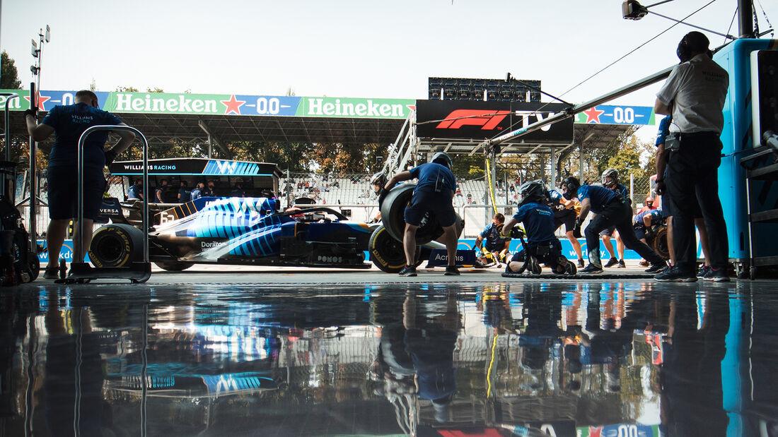 George Russell - Williams - Formel 1 - Monza - GP Italien - 11. September 2021