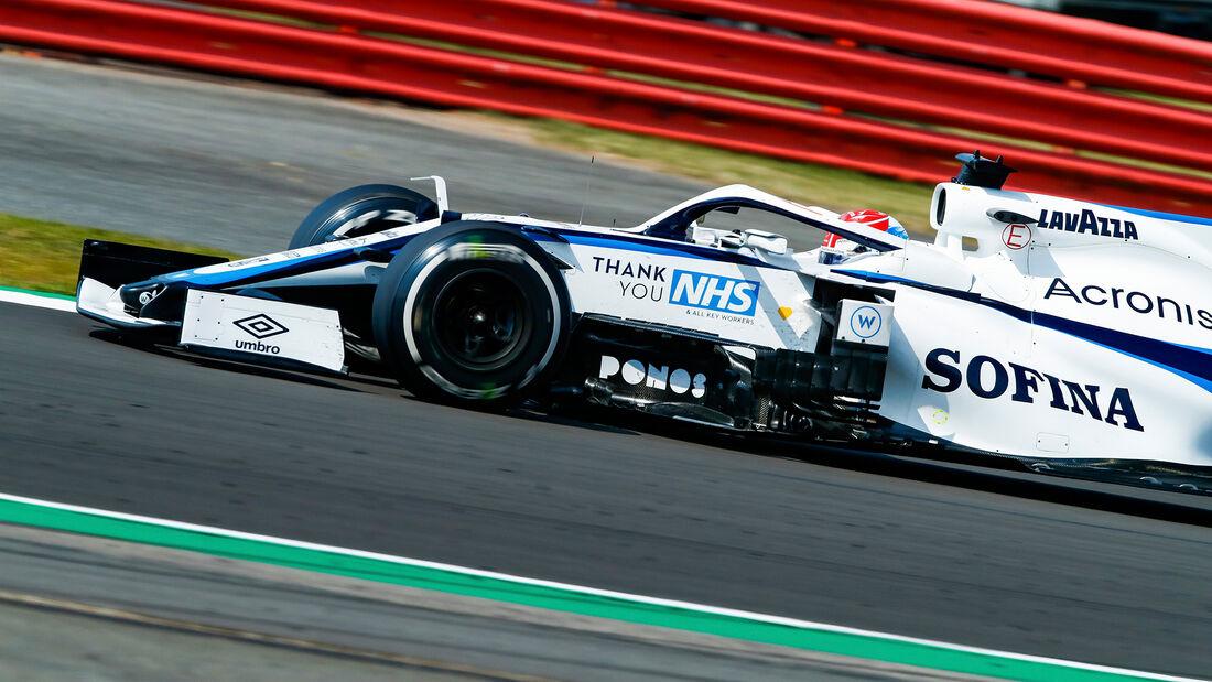 George Russell - Williams - GP 70 Jahre F1 - Silverstone