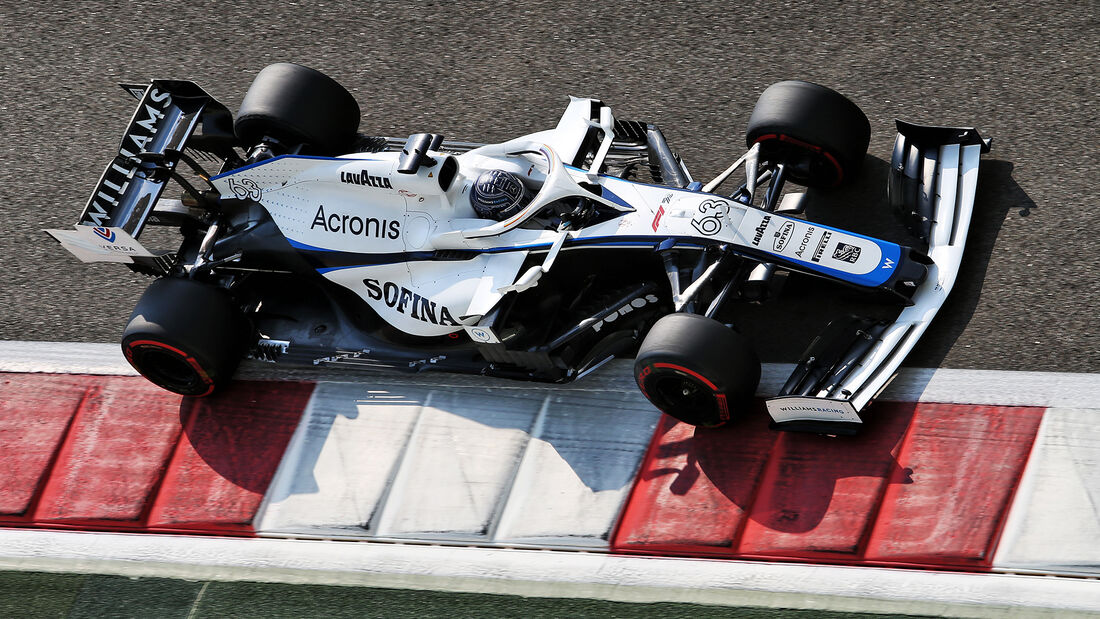 George Russell - Williams - GP Abu Dhabi 2020