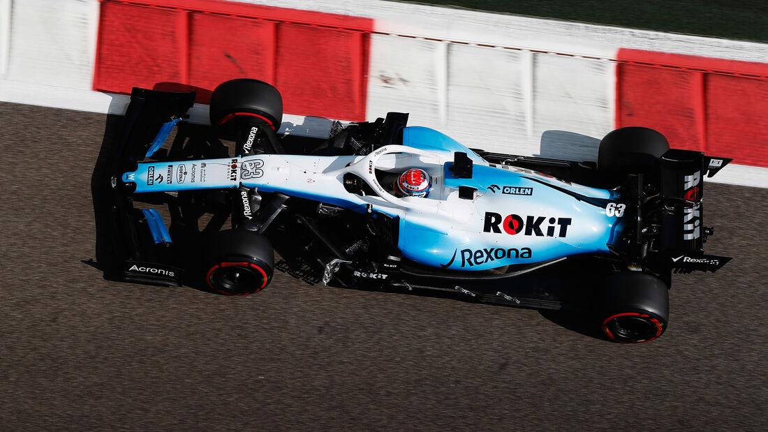 George Russell - Williams - GP Abu Dhabi - Formel 1 - Freitag - 29.11.2019