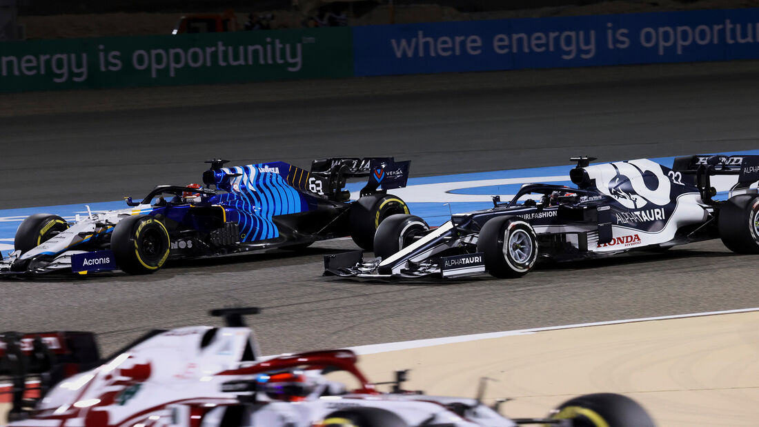 George Russell - Williams - GP Bahrain 2021 - Rennen