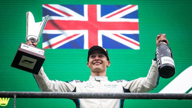 George Russell - Williams - GP Belgien - 29. August 2021
