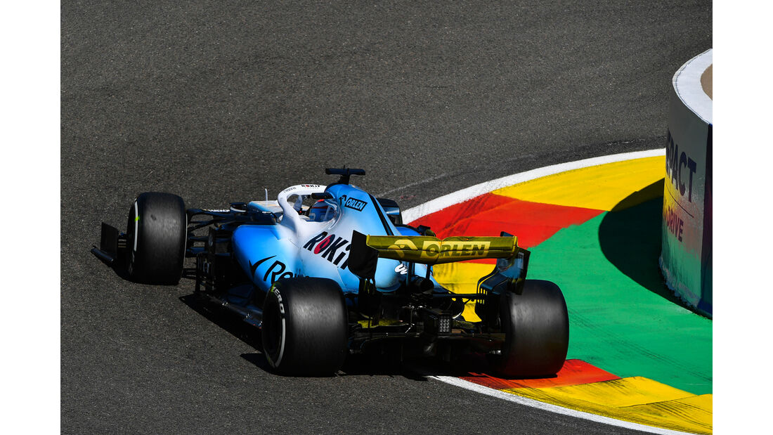 George Russell - Williams - GP Belgien - Spa-Francorchamps - Formel 1 - Freitag - 30.8.2019