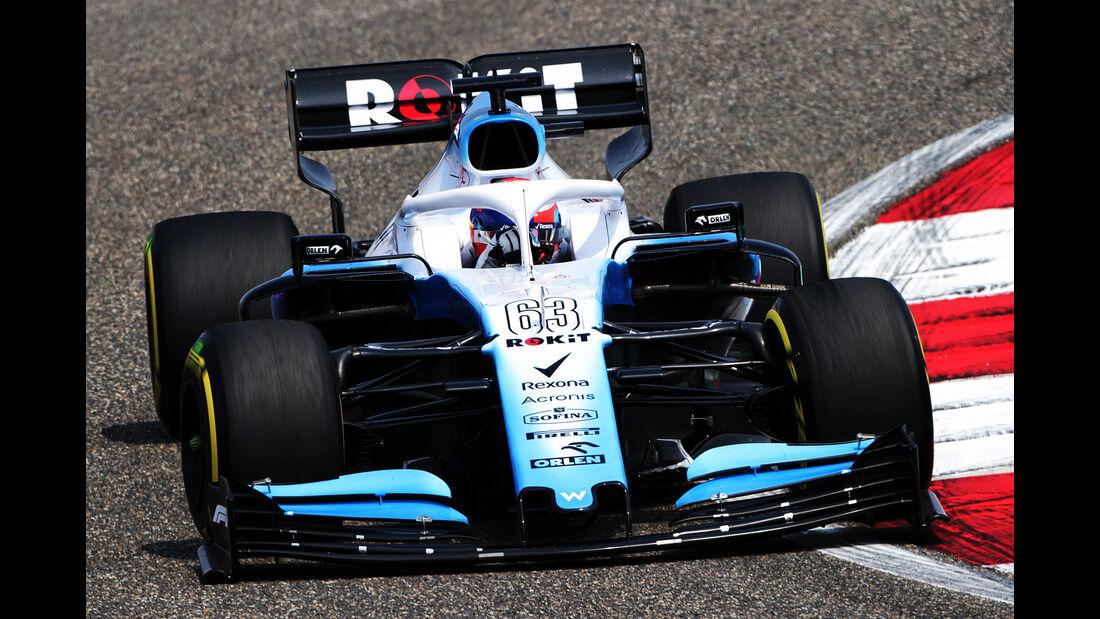 George Russell - Williams - GP China - Shanghai - Formel 1 - Freitag - 12.4.2019