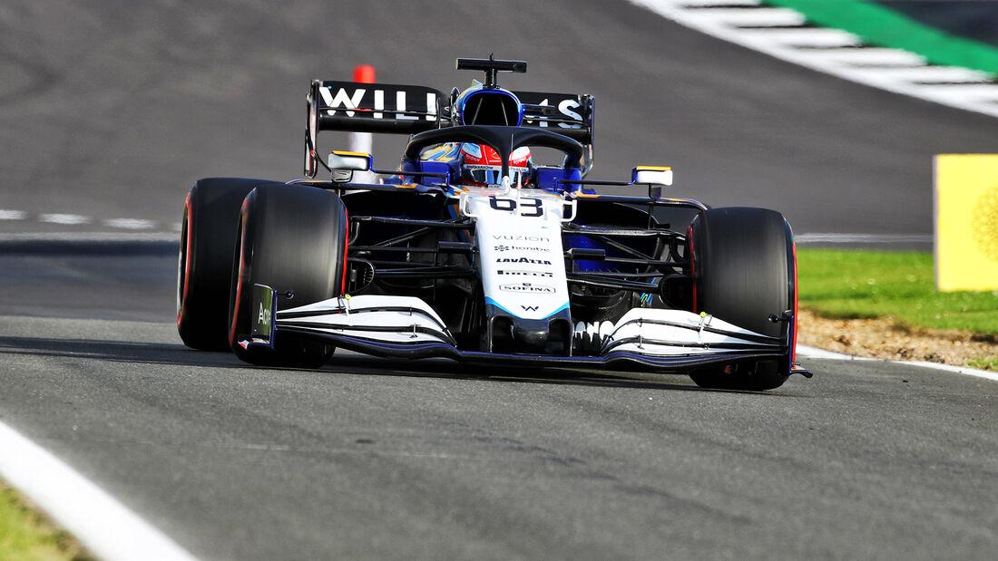 George Russell - Williams - GP England - Silverstone  - Formel 1 - 16. Juli 2021