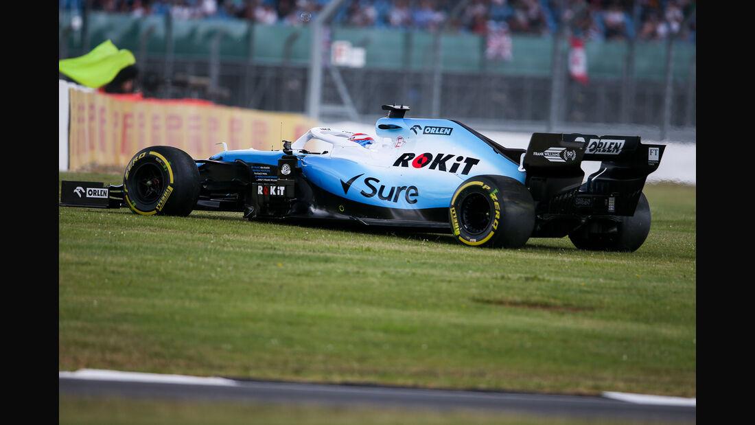 George Russell - Williams - GP England - Silverstone - Freitag - 12.7.2019