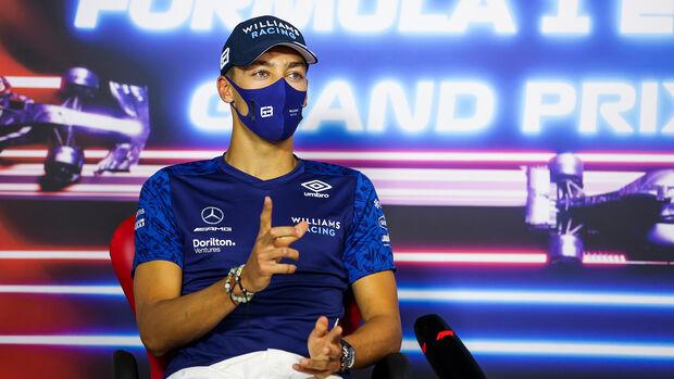 George Russell - Williams - GP Frankreich 2021 - Paul Ricard