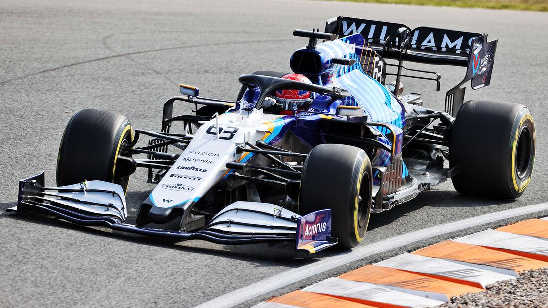 George Russell - Williams - GP Niederlande - Zandvoort - Formel 1 - 3. September 2021