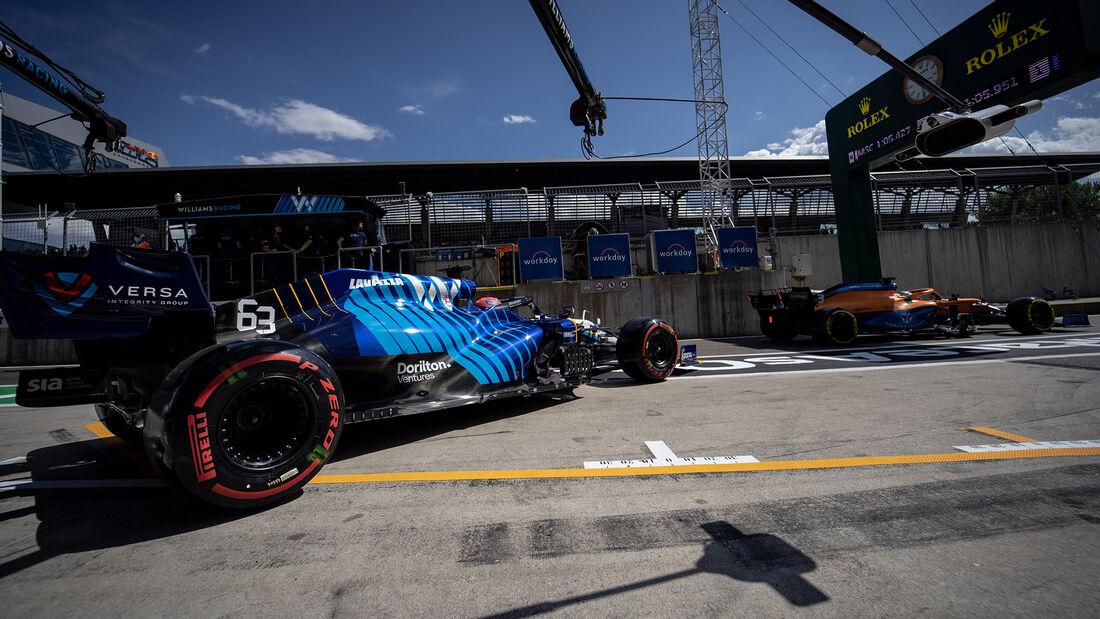 George Russell - Williams - GP Österreich 2021 - Spielberg - Qualifikation