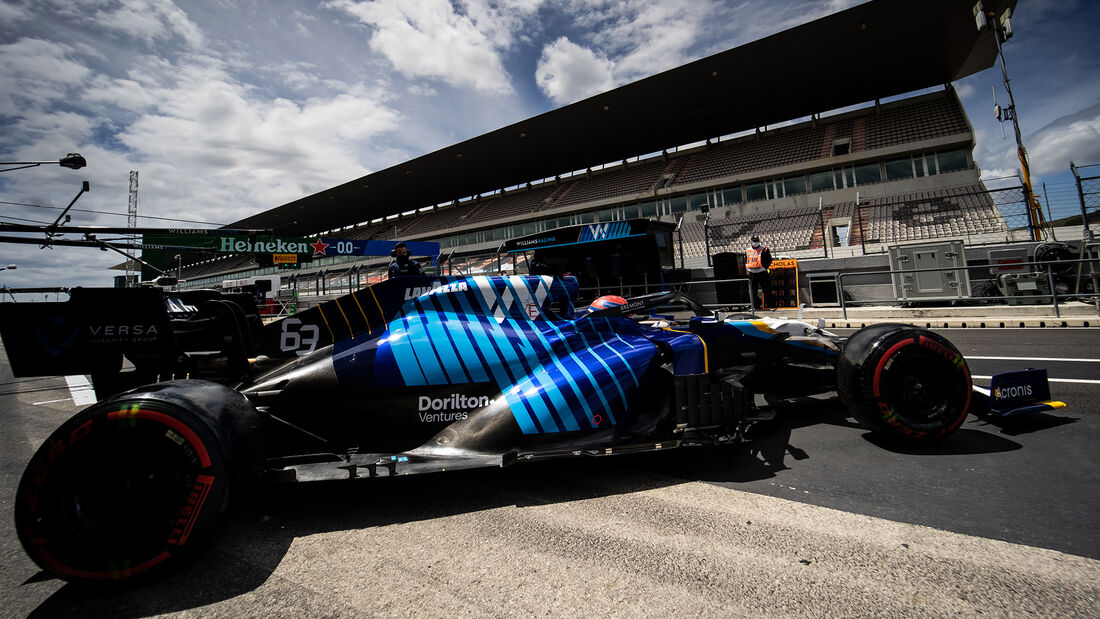 George Russell - Williams - GP Portugal - Portimao - 1. Mai 2021