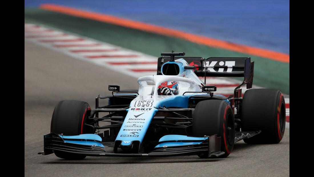 George Russell - Williams - GP Russland - Sotschi - Formel 1 - Freitag - 27.9.2019